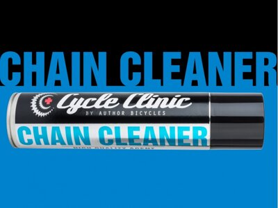 AUTHOR Čistič Cycle Clinic Chain Cleaner aerosol 400 ml černá