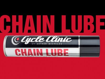 AUTHOR Mazivo Cycle Clinic Chain Lube 400 ml černá